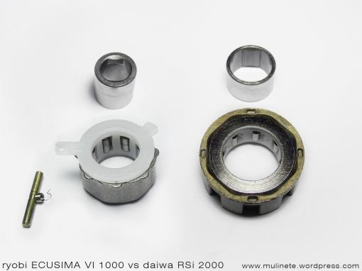 ryobi ECUSIMA VI vs daiwa RSi