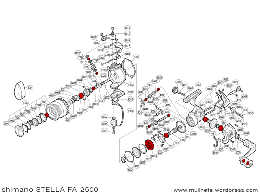 shimano_STELLA_FA_2500_scheme