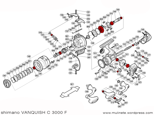 shimano_VANQUISH_C_3000_F_scheme
