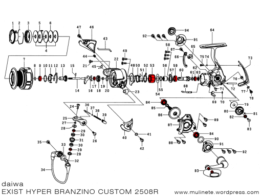 daiwa_EXIST_HYPER_BRANZINO_CUSTOM_2508R_schematic